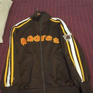 Vintage PADRES .jacket .